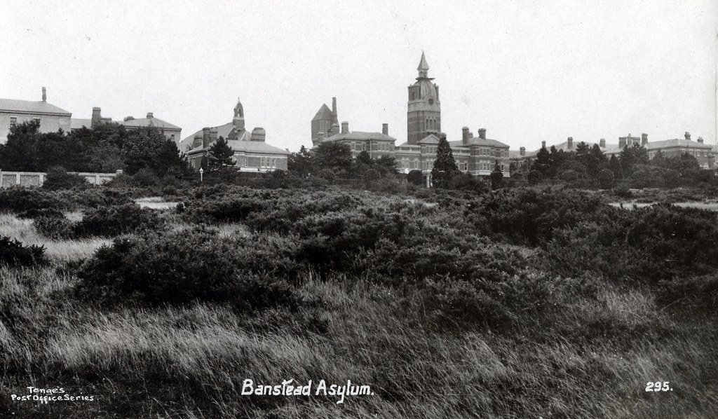 Banstead Asylum Although In Surrey This Was The Third