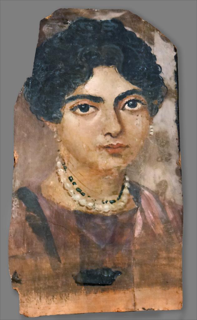 Portrait du Fayoum (Altes Museum, Berlin)   Portrait de ...
