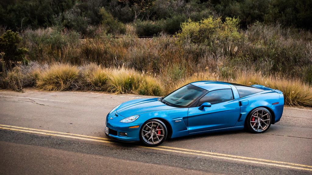 """19/20"""" VS52 Concave on Corvette C6 Z06   19/20"""" VS52 ..."""