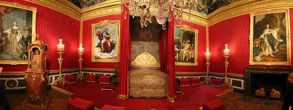 Versailles slaapkamer van de koning in het paleis flickr - Model van de slaapkamer ...