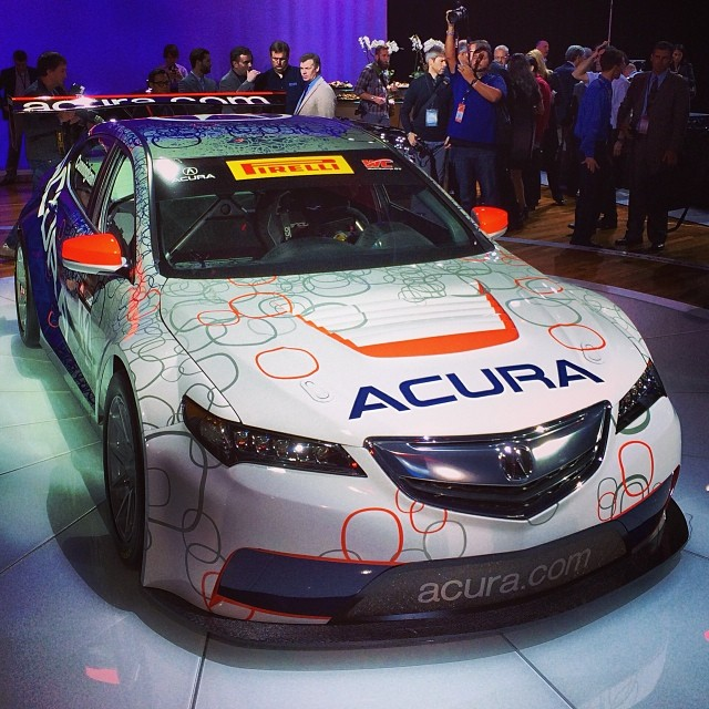 """We Race To Win"": 2015 #Acura TLX Race Car"
