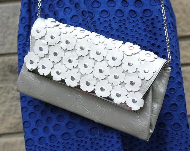 how to make a diy prada leather floral clutch tutorial via kristina j blog
