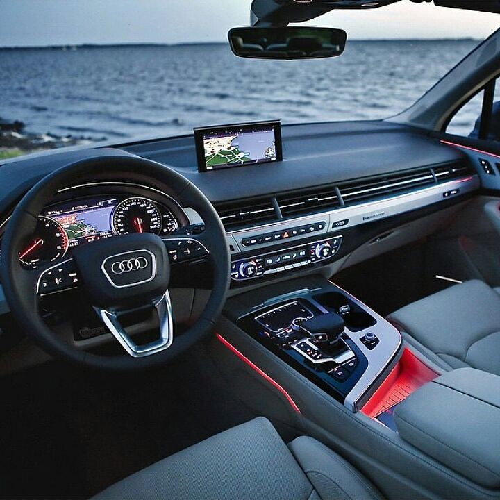 this is the luxurious interior of brand new 2016 audi q7 flickr. Black Bedroom Furniture Sets. Home Design Ideas