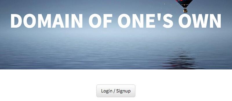UMW Domains login