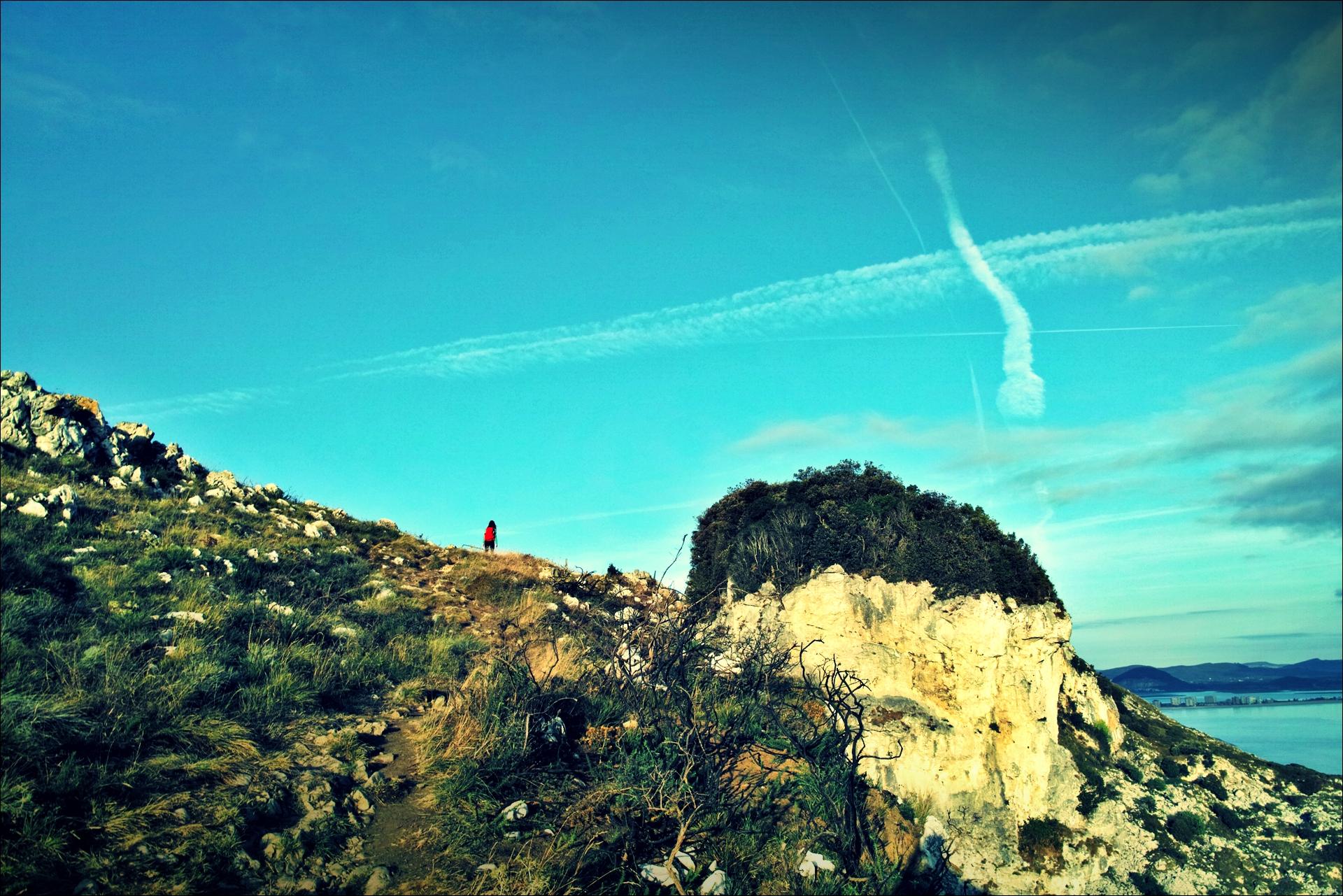 언덕과 구름-'카미노 데 산티아고 북쪽길. 리엔도에서 산토냐. (Camino del Norte - Liendo to Santoña) '