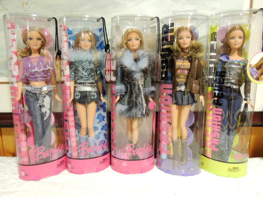 Fashion Fever Barbie Dolls Blue Group The Doll Keeper Flickr