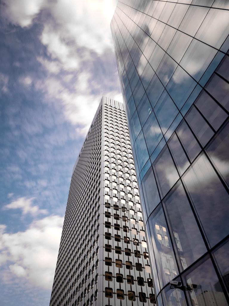 About >> Tour Ariane and the Tour Opus 12, La Défense, Paris | Flickr