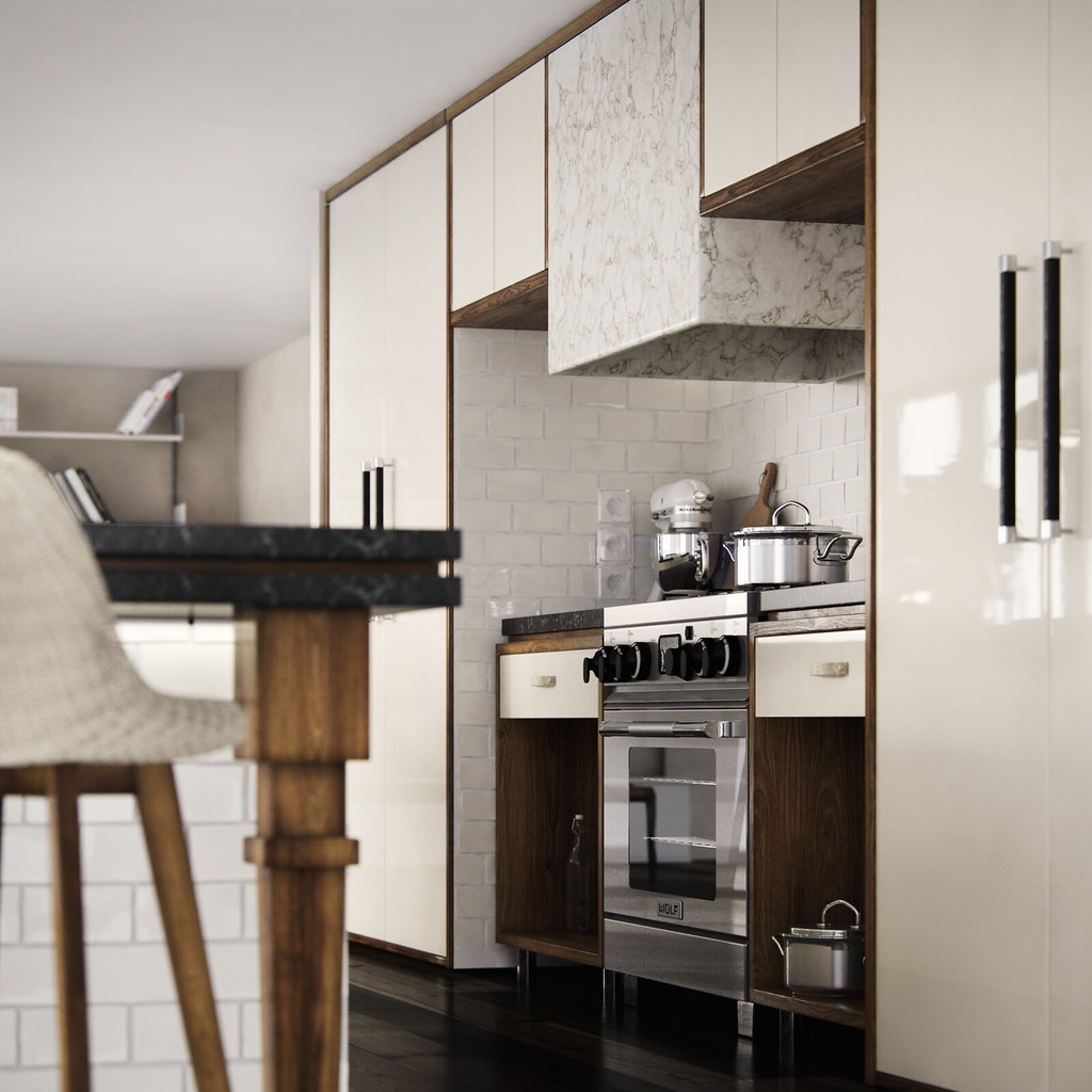 Australian Kitchen Australian Kitchen Architectural Visualization