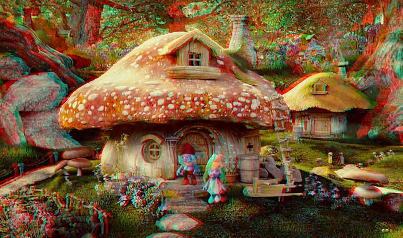 Les schtroumpfs la maison du grand schtroumpf en 3d flickr - Schtroumpf maison ...