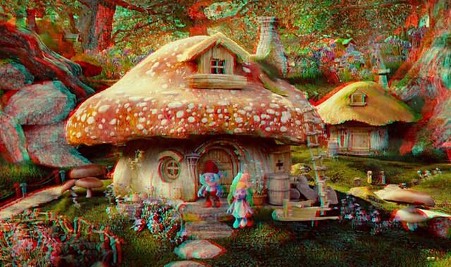 Les schtroumpfs la maison du grand schtroumpf en 3d - Schtroumpf maison ...