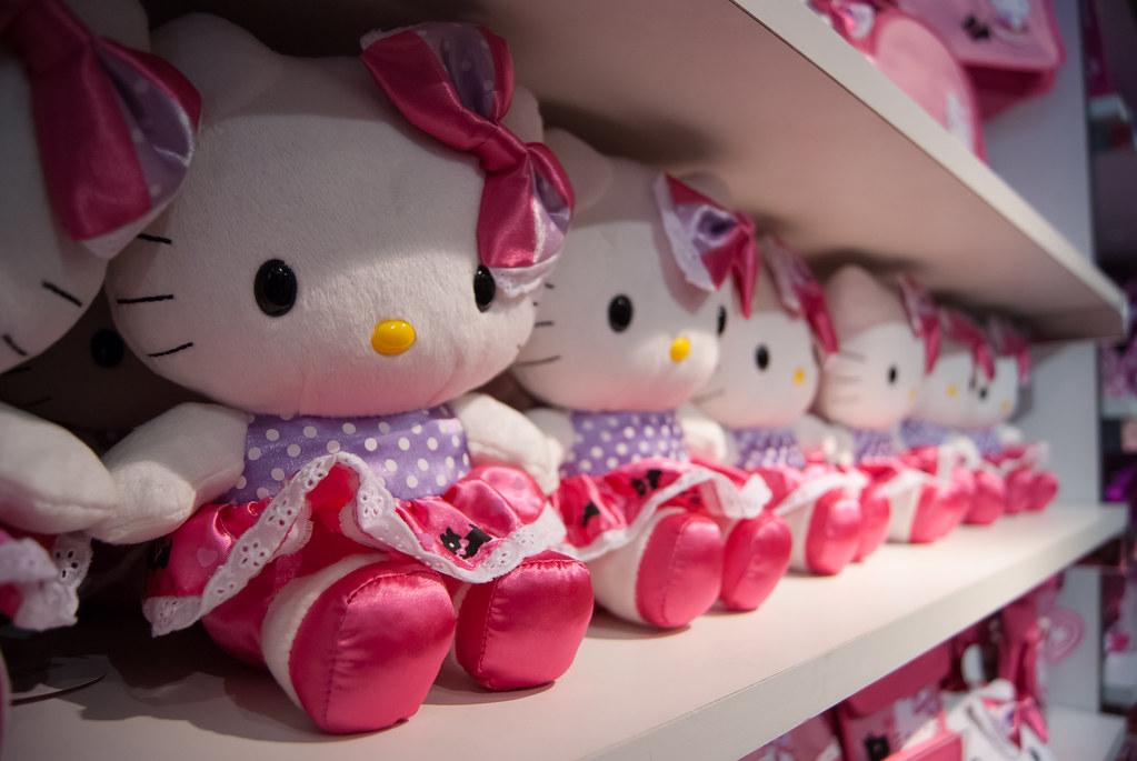 Square Hello Kitty Cake