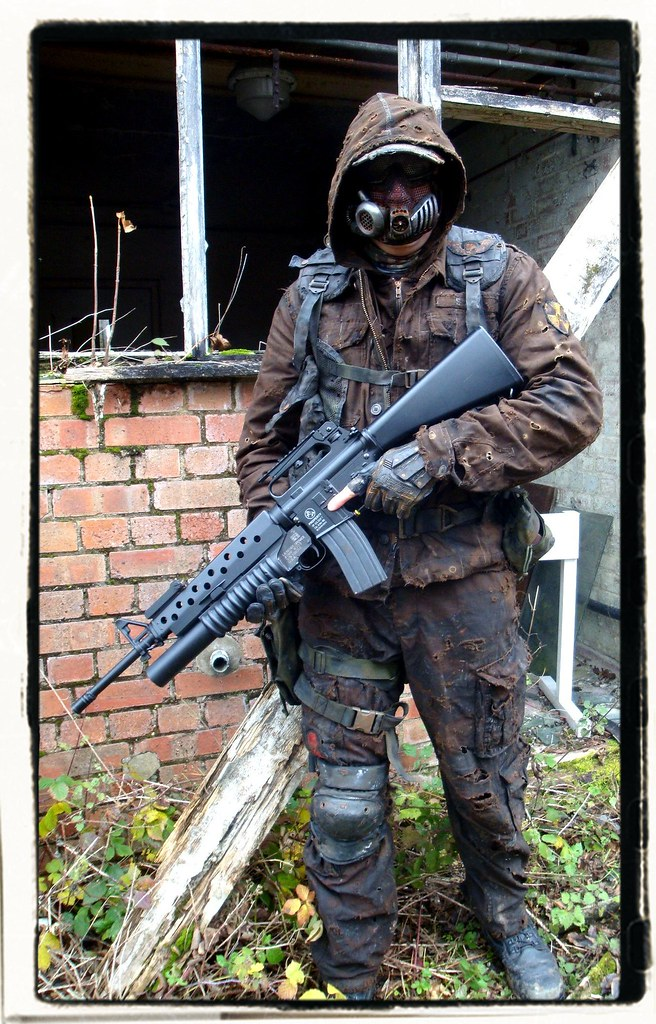 The Zombie Apocalypse >> Wasteland airsoft outfit | Darren Griffin | Flickr