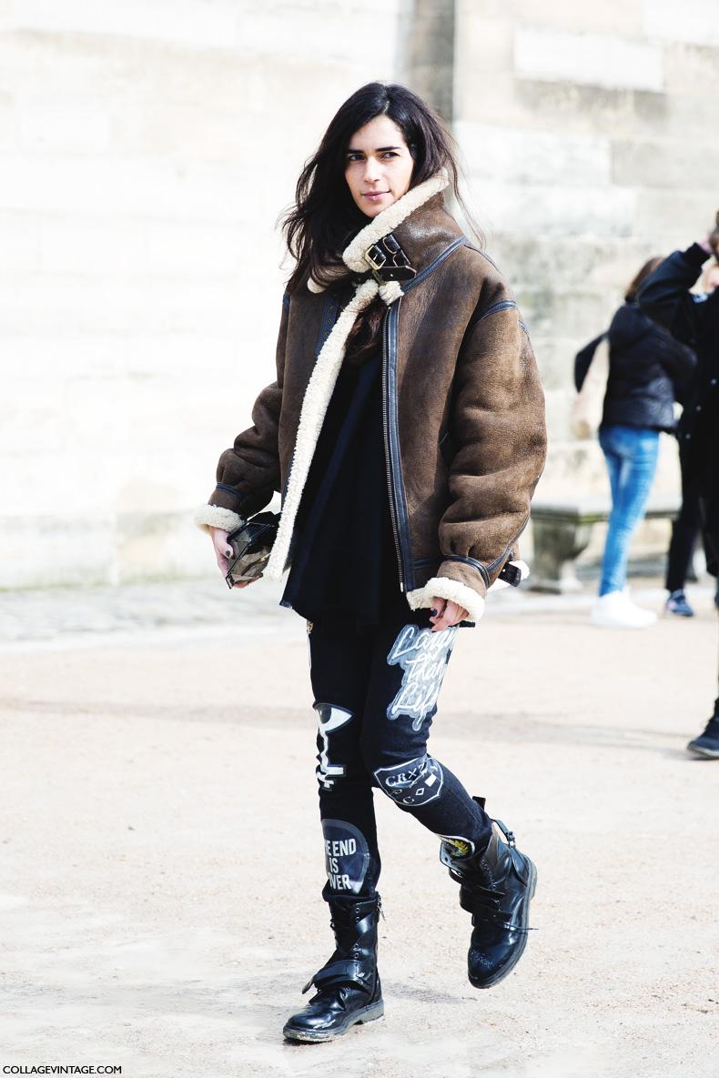 Paris_Fashion_Week_Fall_14-Street_Style-PFW-Chiara_Totire-Aviator_Jacket-1