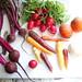 Root vegetables mandolin spring salad
