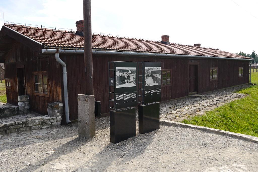 Barraca clasificación Judios en Birkenau