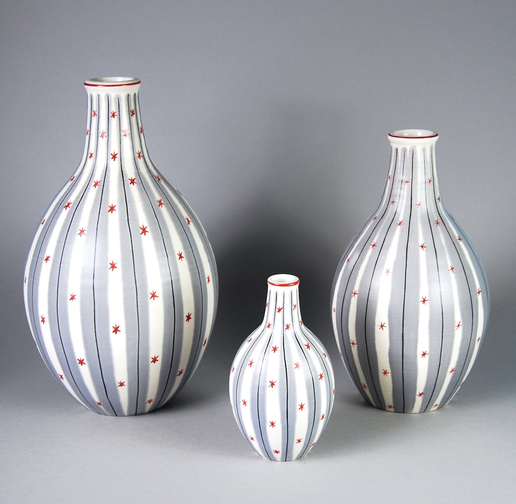 Poole pottery 1950s contemporary vases ymp pattern 115 flickr reviewsmspy