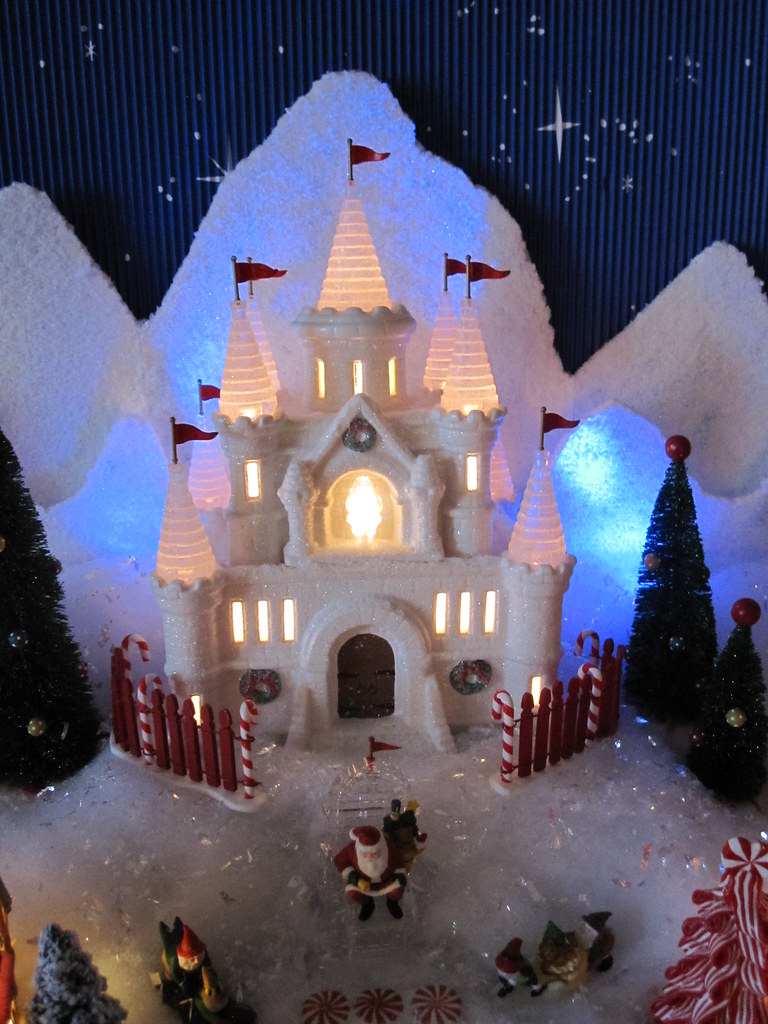 dept 56 north pole christmas village pa