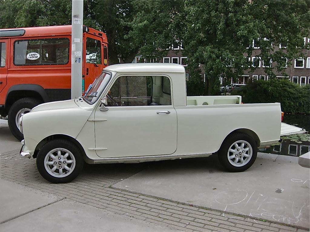 Austin Mini Mk1 >> 1965 AUSTIN/MORRIS Mini MK1 Pick-up | It is not clear to me … | Flickr