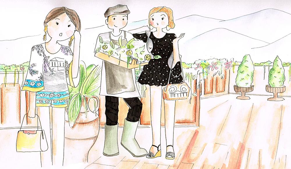 dolce gabbana 2014 collection SS14, italian fashion illustration, something fashion valencia blogger moda, watercolor fashion illustration beautiful naïf style clothing italy, italy clothing blogger