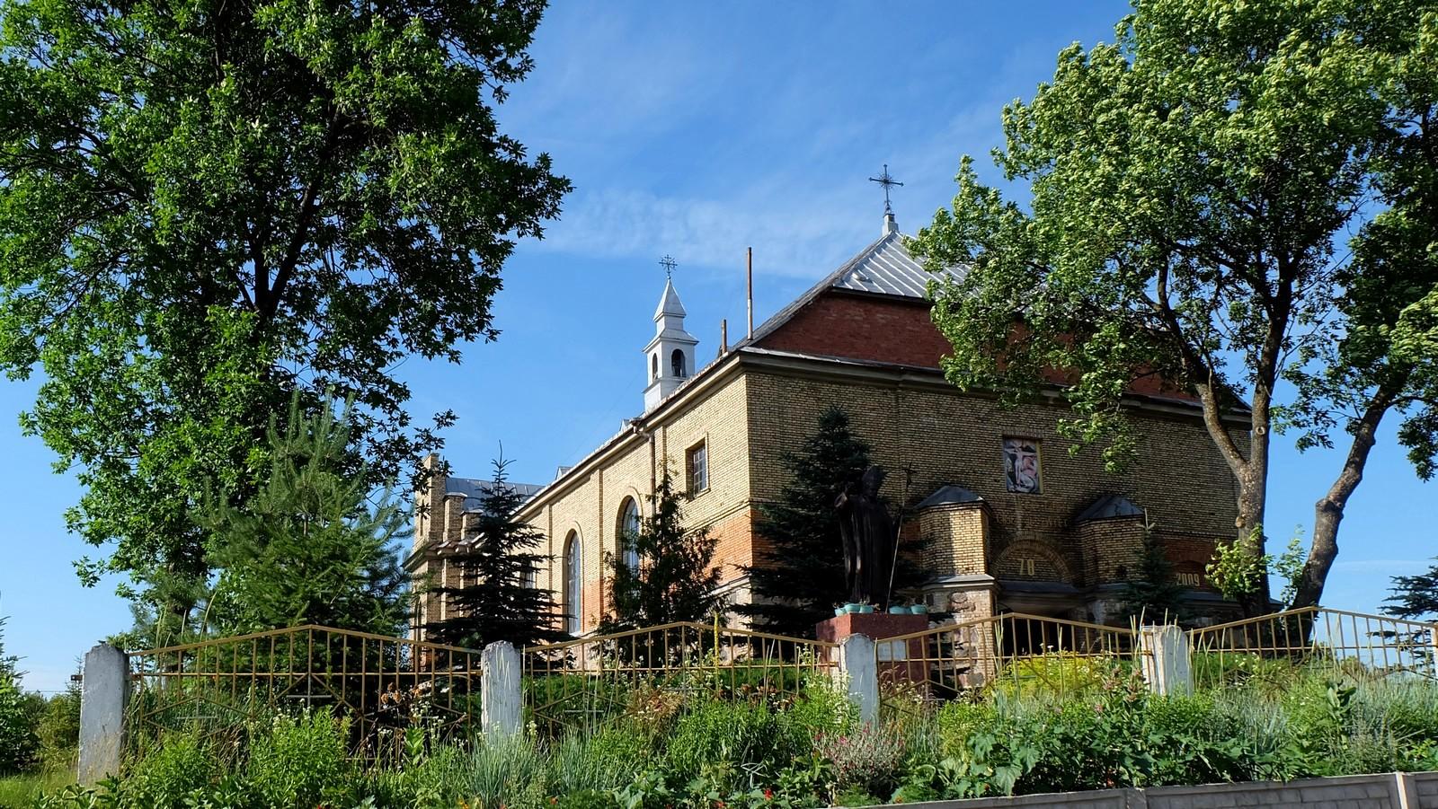 Костёл Пресвятой Троицы, Войстом, Беларусь