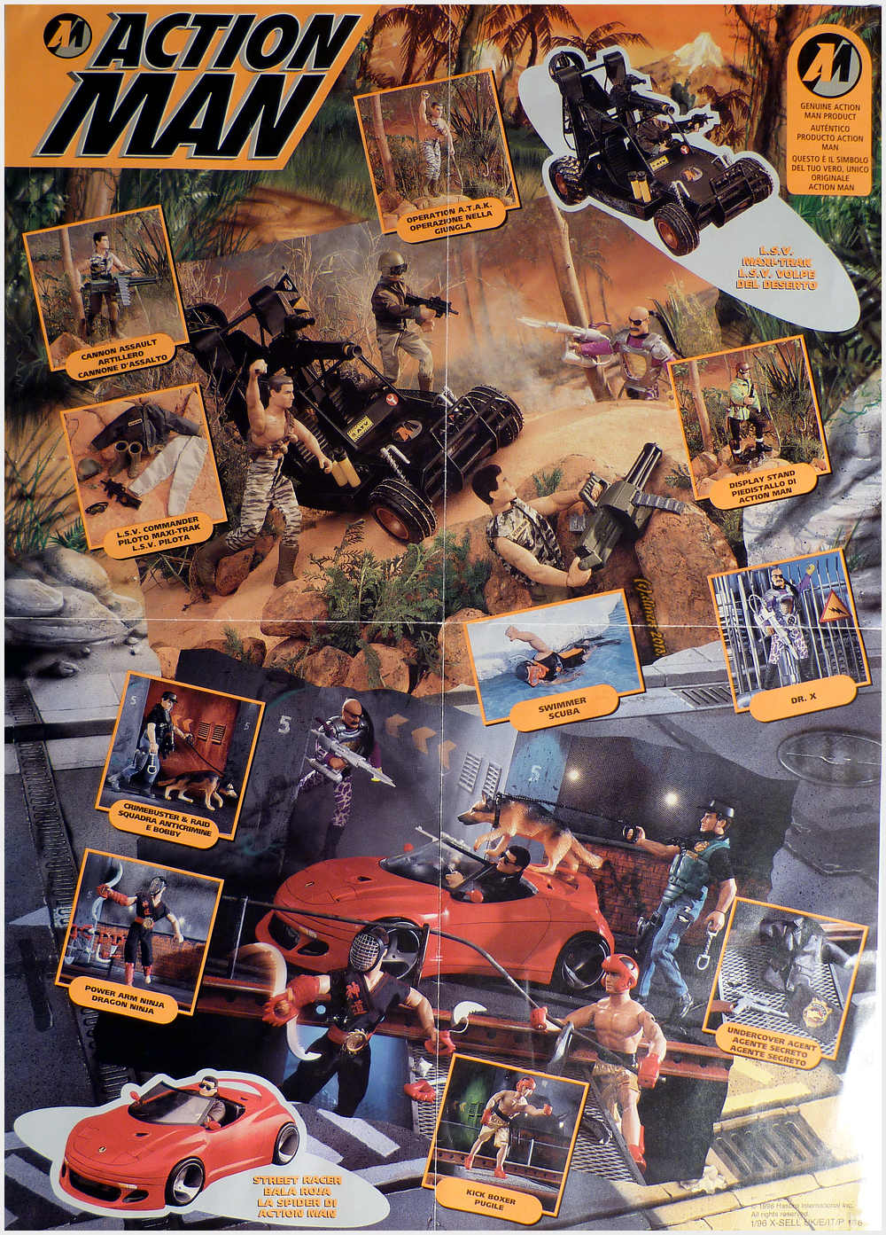 Action Man Poster (year 1996).. 32694731874_3da4614c6b_o