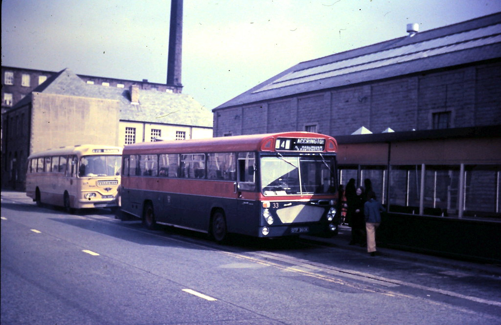 Accrington Corporation Transport 33 Otf360k 091973 Flickr