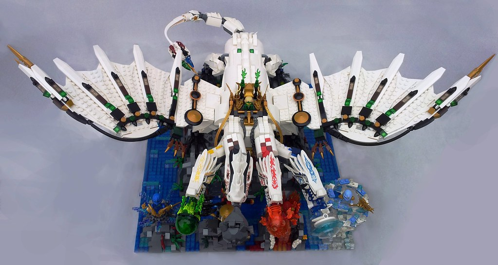 lego ninjago ultra dragon the dragon was created well ov flickr