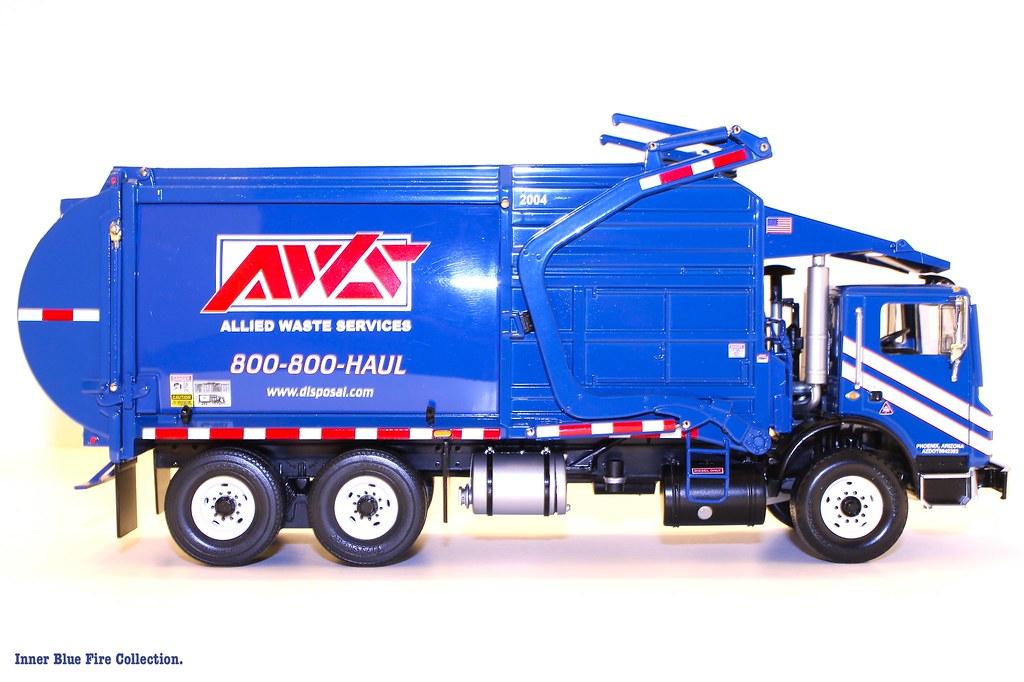 First Gear Allied Waste Front Load Trash Truck Original