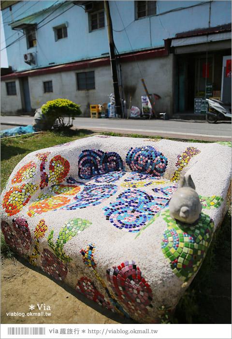 【台南後壁幾米】後壁土溝農村美術館‧農村就是美術館!幾米作品可愛現縱~22