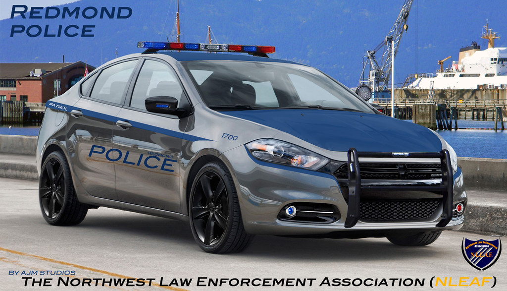 dodge dart police car redmond police washington ajm nwpd. Black Bedroom Furniture Sets. Home Design Ideas