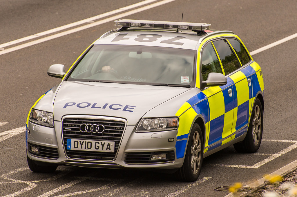Avon Amp Somerset Police Audi A6 Oy10 Gya A466 Chepstow