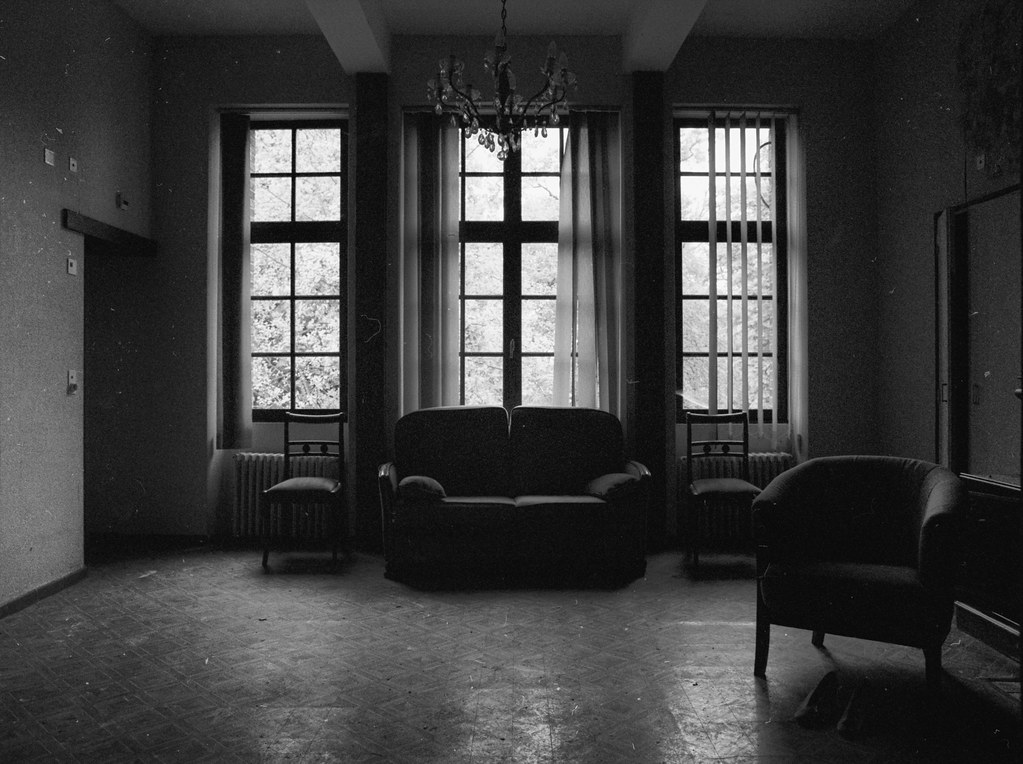Living room this former retirement home was located in a 1 flickr - Living room picture ...