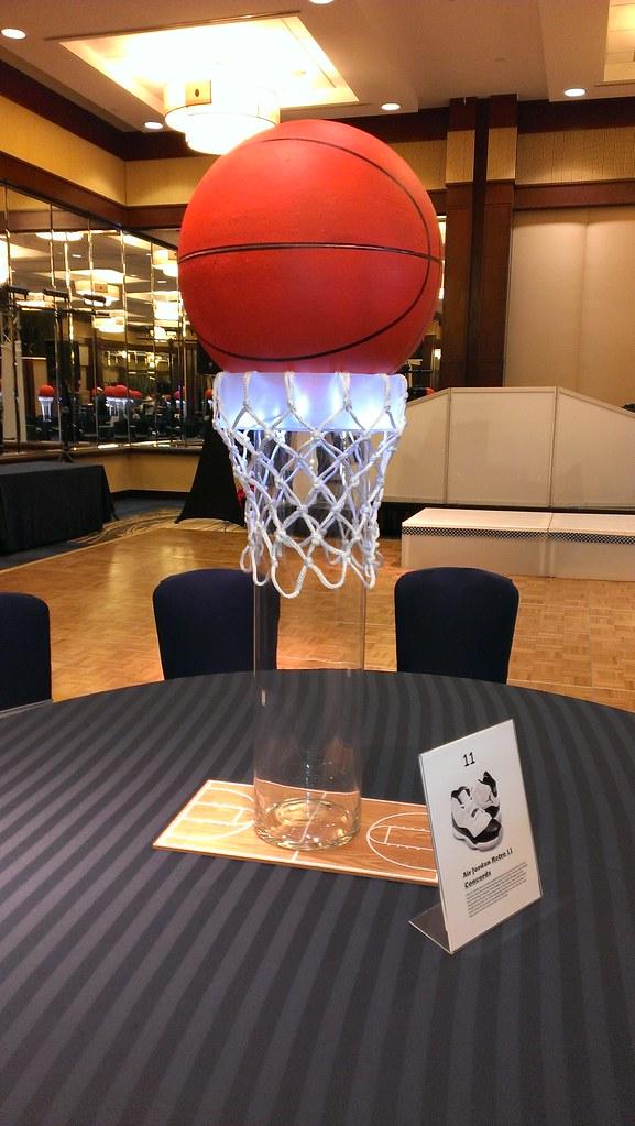 basketball centerpiece the prop factory flickr. Black Bedroom Furniture Sets. Home Design Ideas
