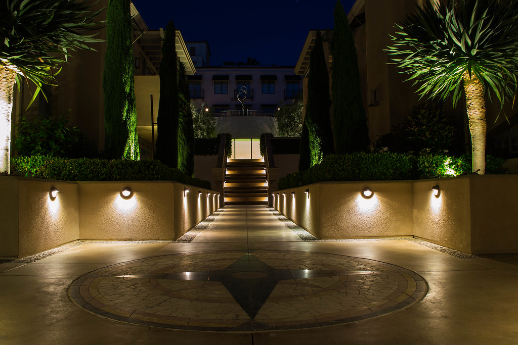 Auroralight Installations Led Landscape Light Copper