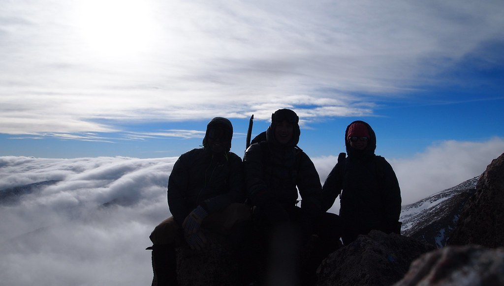 Summit of Pagoda Mountain (13,258') - December 14, 2013