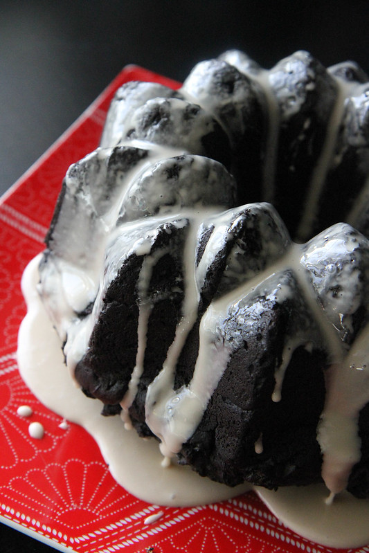 Chocolate Guinness Sweet Potato Cake
