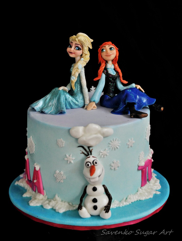 Elsa And Anna Cake Decoration : Frozen with Anna and Elsa Anna Savenko Flickr