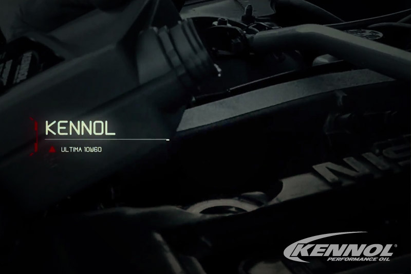 New TV ad for the KENNOL ULTIMA 10W60 PAO and Esters motor oil.