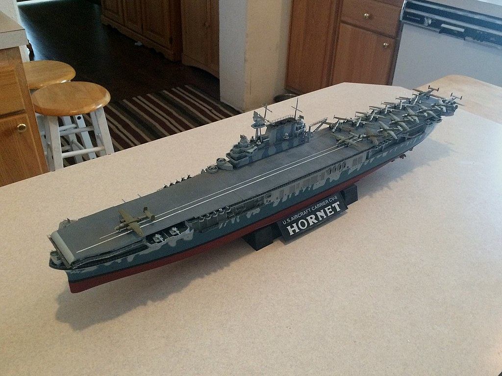 Aircraft carrier models large scale -  Needed To Do Some Touch Up On The Paint Ass The Dull Coat Finish And Then Take The Final Pics Here S How All Of That Looked In Completing This Model