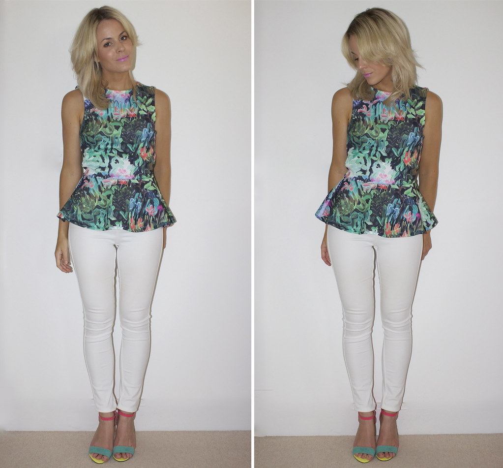 Peplum Top H&m | by Pearls