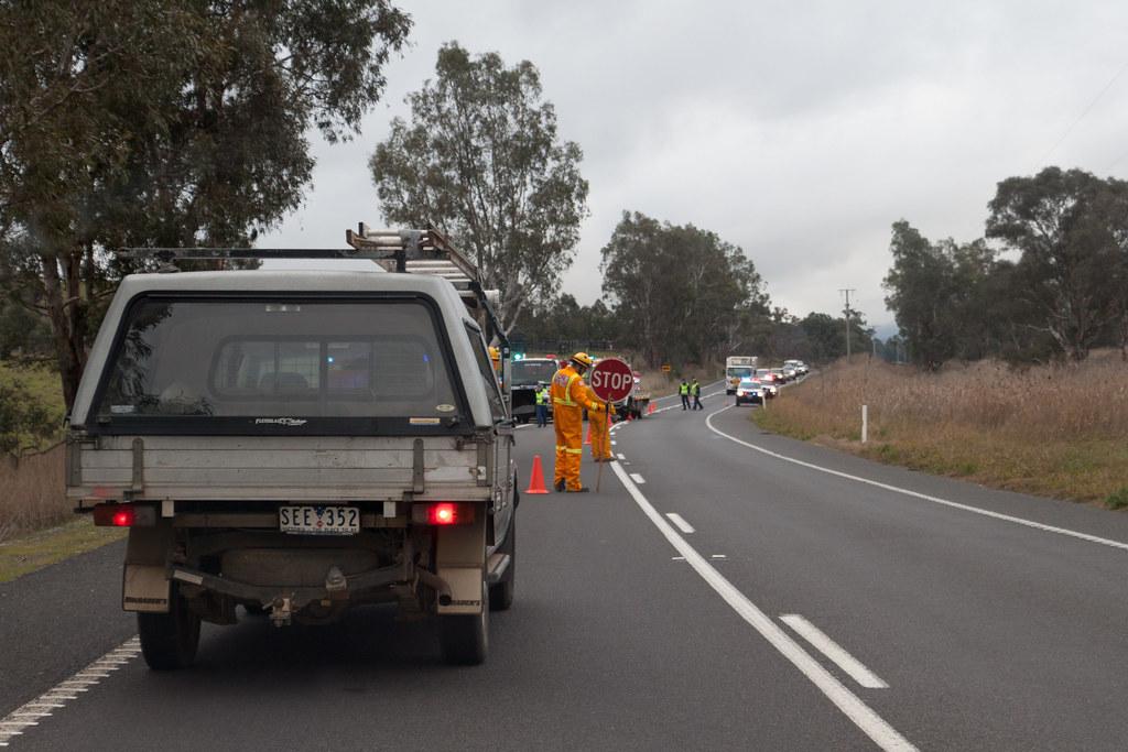 Single Car Accident Vermilion Road August