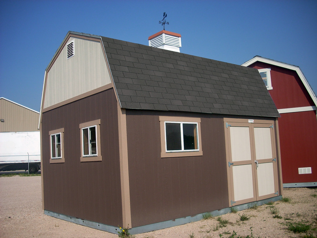 Premier Tall Barn With Cupola Tuff Shed Flickr