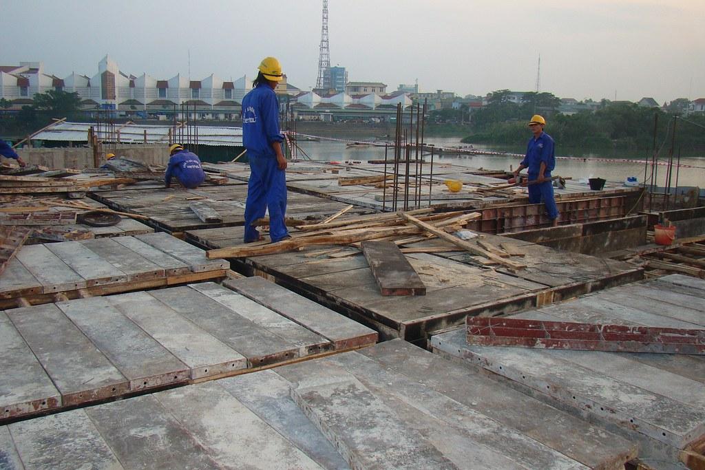 Lap Dung Van Khuon San Lắp Dựng Ván Khuôn Dầm Sàn
