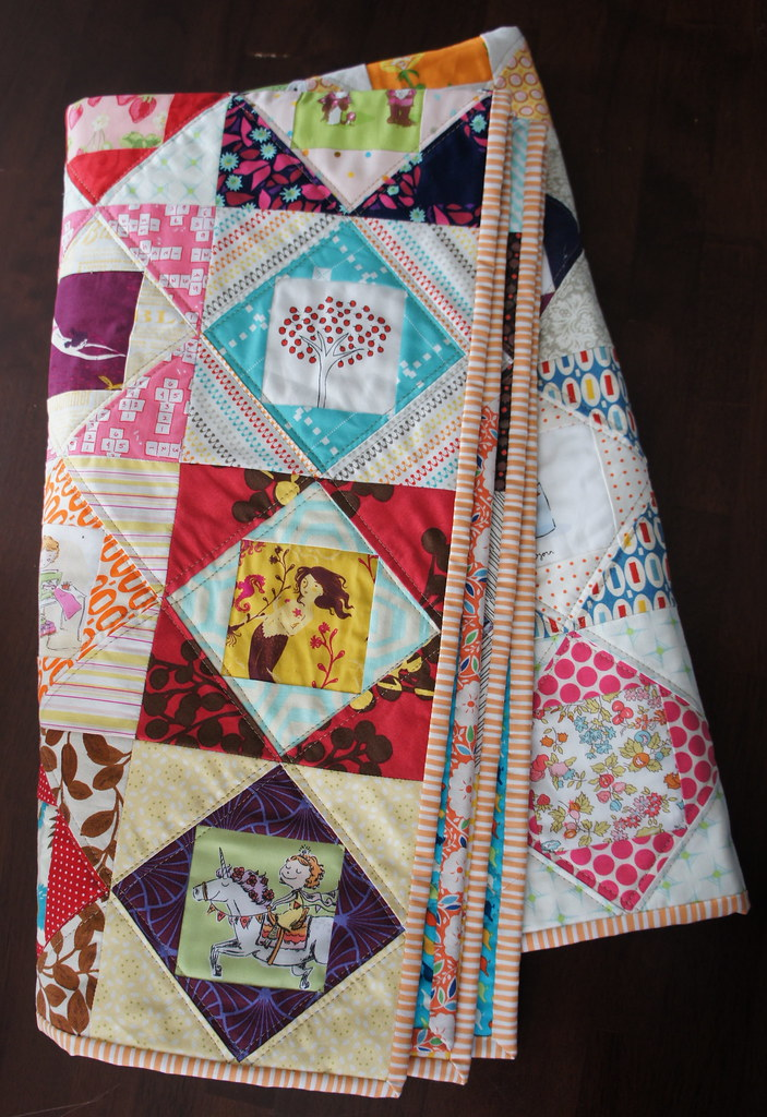 Plaid Baby Quilt: The Plaid Baby Eye Spy Love