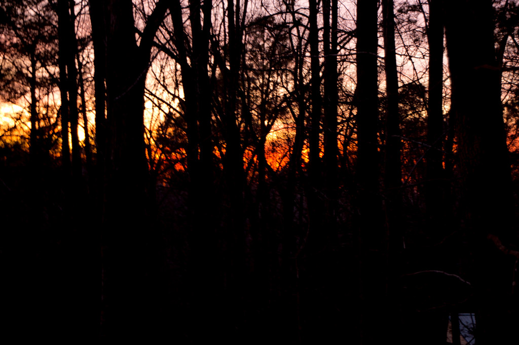 fiery glow burning sunset - photo #47