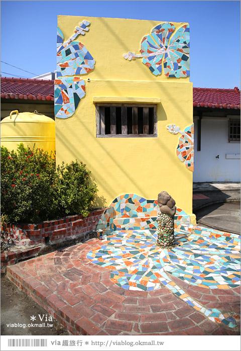 【台南後壁幾米】後壁土溝農村美術館‧農村就是美術館!幾米作品可愛現縱~9