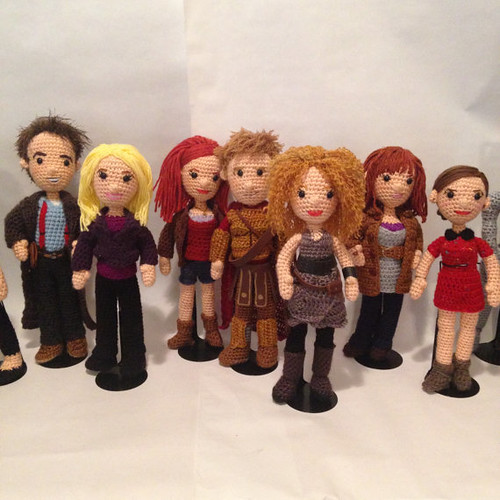 Doctor Who Crochet Amigurumi from CraftyIsCool - Companions