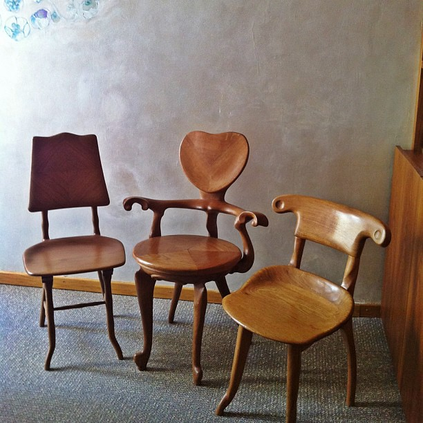 Three jewels of gaud furniture from left to right the s for C furniture new lynn