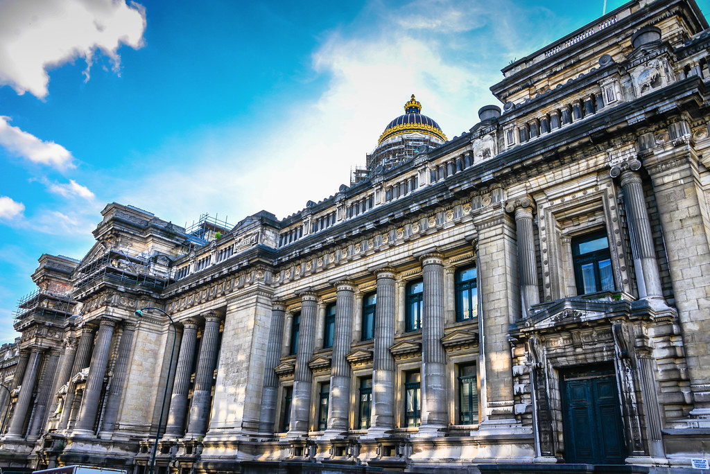 Palace of Justice (Palais de Justice) - Brussels Belgium ...