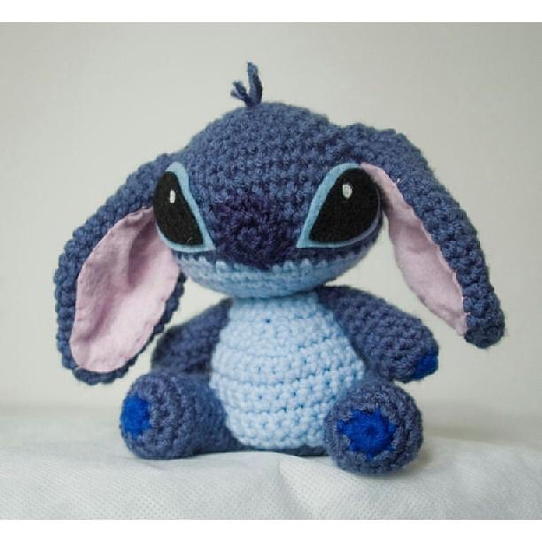 Amigurumi Lilo Y Stitch : Stitch amigurumi. From lilo & stitch #craftydork #crochet ...